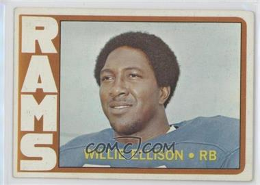 1972 Topps - [Base] #62 - Willie Ellison [Good to VG‑EX]