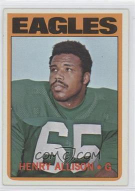 1972 Topps - [Base] #73 - Henry Allison