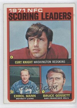 1972 Topps - [Base] #8 - Curt Knight, Errol Mann, Bruce Gossett