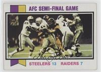 AFC Semi-Final Game (Steelers vs. Raiders) [Good to VG‑EX]