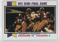 NFC Semi-Final Game (Redskins vs. Packers)