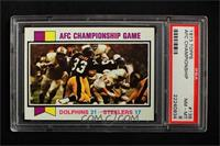 AFC Championship Game (Dolphins vs. Steelers) [PSA8NM‑MT]