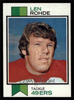 Len Rohde [EXMT]