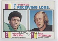 Harold Jackson, Fred Biletnikoff [Good to VG‑EX]