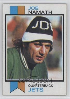 1973 Topps - [Base] #400 - Joe Namath