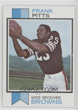 1973 Topps - [Base] #405 - Frank Pitts