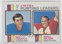 Dave Chapple, Jerrell Wilson