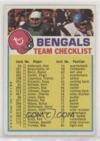 Cincinnati Bengals (One Star on Front) [GoodtoVG‑EX]