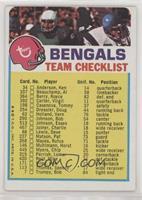 Cincinnati Bengals (Two Stars on Front) [GoodtoVG‑EX]