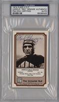 Red Grange [PSA/DNA Certified Encased]