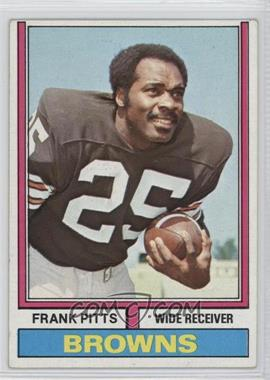 1974 Topps - [Base] #11 - Frank Pitts [Good to VG‑EX]
