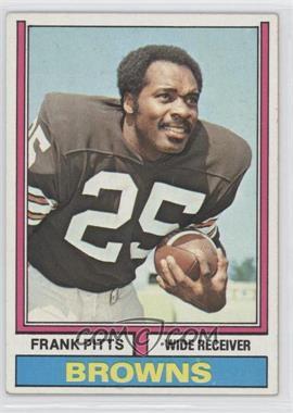 1974 Topps - [Base] #11 - Frank Pitts