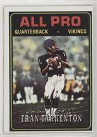 Fran Tarkenton [Poor to Fair]