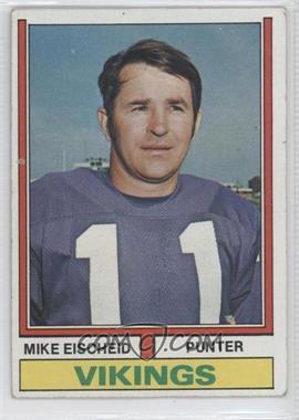 1974 Topps - [Base] #163 - Mike Eischeid