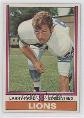 1974 Topps - [Base] #198 - Larry Hand