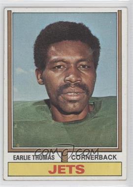 1974 Topps - [Base] #201 - Earlie Thomas