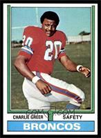 Charlie Greer [NM]