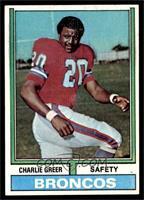 Charlie Greer [EX]