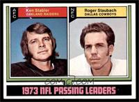 Roger Staubach, Ken Stabler [EX]