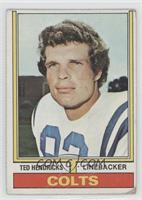Ted Hendricks [Poor]
