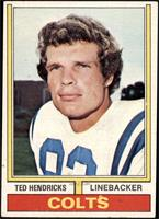 Ted Hendricks [VG EX]