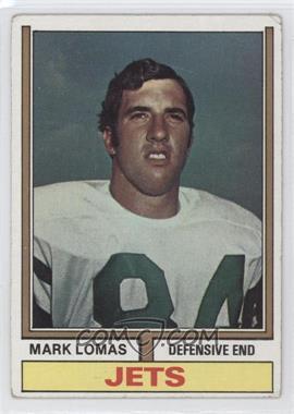 1974 Topps - [Base] #455 - Mark Lomas