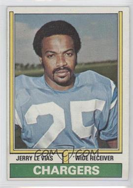 1974 Topps - [Base] #457 - Jerry LeVias