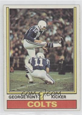 1974 Topps - [Base] #482 - George Hunt