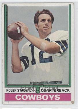 1974 Topps - [Base] #500 - Roger Staubach