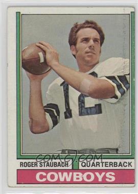 1974 Topps - [Base] #500 - Roger Staubach [GoodtoVG‑EX]