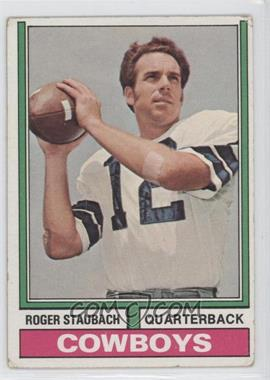 1974 Topps - [Base] #500 - Roger Staubach [Good to VG‑EX]