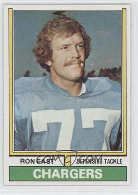 1974 Topps - [Base] #72 - Ron East