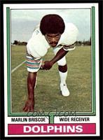 Football Marlin Briscoe Marlin Marlin Cards Football Briscoe Cards
