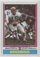 Mike Phipps (1972 Stats on Back)