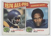 O.J. Simpson, Lawrence McCutcheon [Good to VG‑EX]