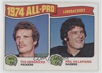 Phil Villapiano, Ted Hendricks