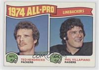 Phil Villapiano, Ted Hendricks