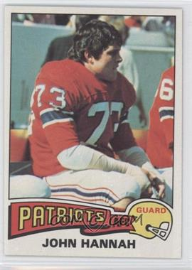 1975 Topps - [Base] #318 - John Hannah