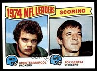 1974 NFL Leaders - Chester Marcol, Roy Gerela [NM]