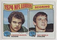 1974 NFL Leaders - Chester Marcol, Roy Gerela [Good to VG‑EX]