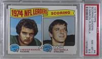 1974 NFL Leaders - Chester Marcol, Roy Gerela [PSA8.5NM‑MT+]