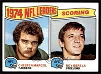 1974 NFL Leaders - Chester Marcol, Roy Gerela [EX MT]
