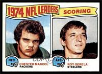 1974 NFL Leaders - Chester Marcol, Roy Gerela [EX]
