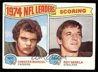 1974 NFL Leaders - Chester Marcol, Roy Gerela [VG]