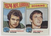 1974 NFL Leaders - Chester Marcol, Roy Gerela [Poor to Fair]