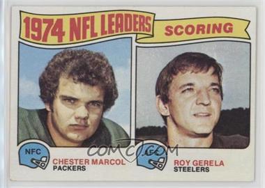 1975 Topps - [Base] #4 - Chester Marcol, Roy Gerela