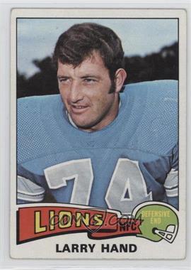1975 Topps - [Base] #42 - Larry Hand