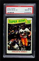Super Bowl IX [PSA8NM‑MT]