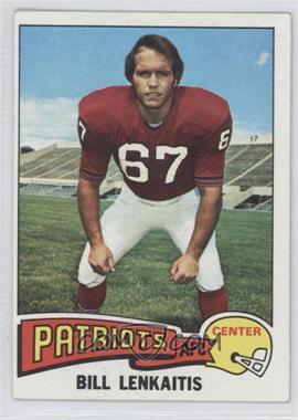1975 Topps - [Base] #61 - Bill Lenkaitis