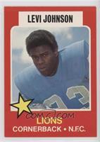 Levi Johnson [GoodtoVG‑EX]